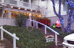 Residential condo lighting all white lights San Jose Bay Area Themes